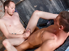 Sexy Greasy Cock Frotting - Billy Rock & Sean Taylor