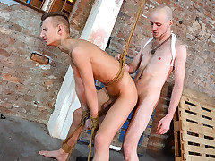 Roped Into Ass-fuck Submission! - Reece Bentley And Kieron Knight